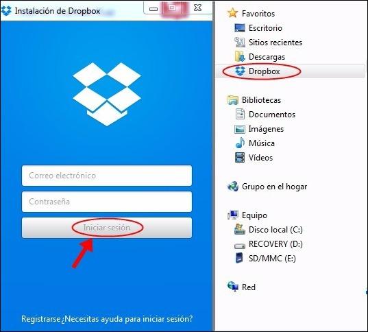Abrir mi cuenta Dropbox - 89
