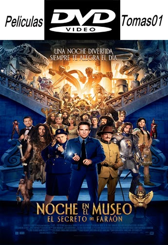 Noche en el Museo 3: El secreto del faraón (2014) DVDRip