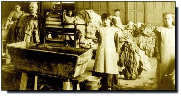 Padlé ženy a Magdaleniny prádelny