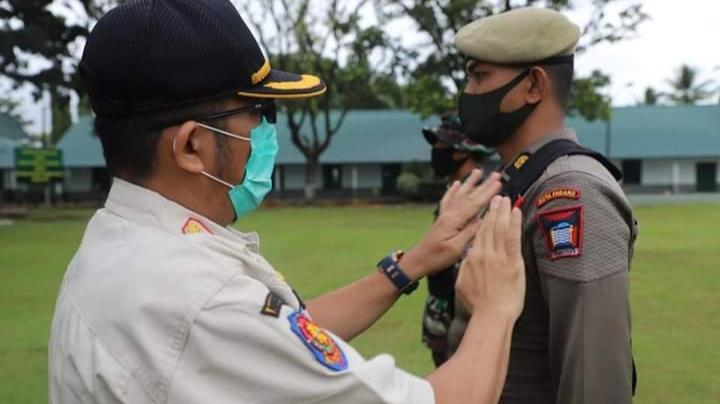 Gelar Latihan Kesamaptaan, Sat Pol PP Padang Tingkatkan Profesionalitas Kinerja