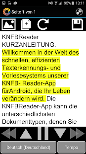 KNFB Reader Screenshot