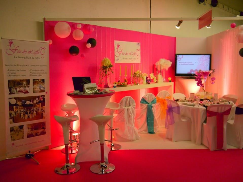 Stand Fée de l'effet Salon du mariage et du Pacs 2012