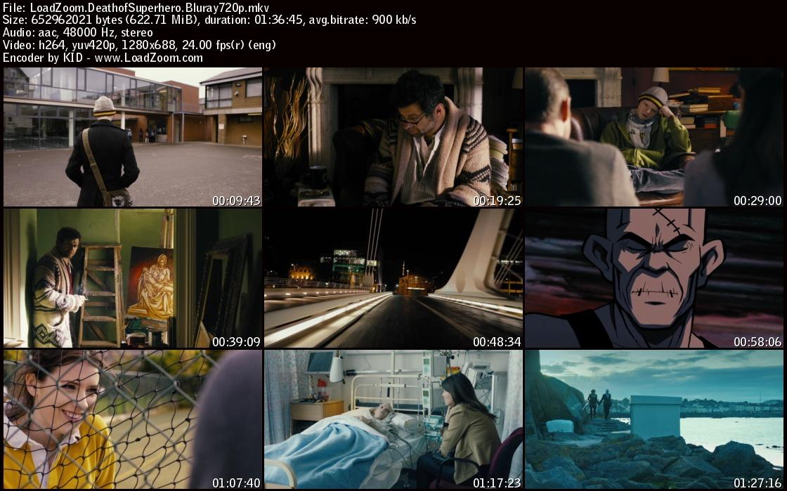 movie screenshot of Death of a Superhero fdmovie.com