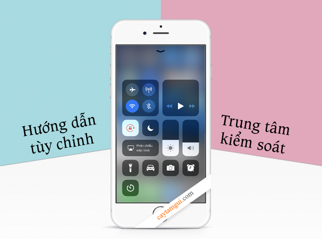 Hướng dẫn tuỳ chỉnh Trung tâm kiểm soát trên iPhone