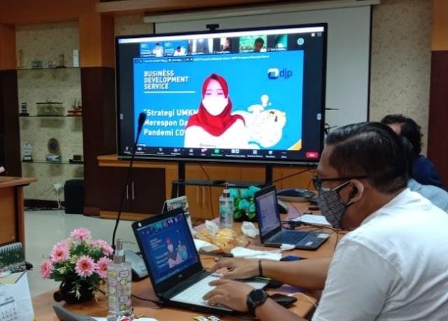 DJP Jatim II Beri Pajak Gratis Hingga Desember 2020 kepada UMKM