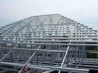atap baja ringan dan genteng multi roof