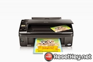 Reset Epson Stylus NX220 Waste Ink Counter overflow problem