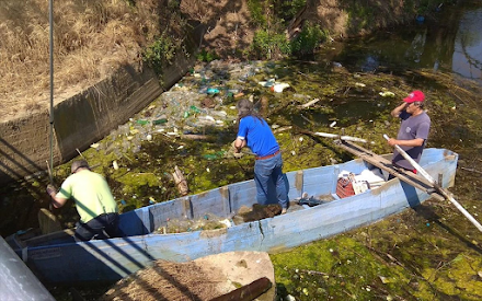 Κιλκίς : 6.000 λίτρα σκουπιδιών απομακρύνθηκαν από τη λίμνη Δοϊράνης