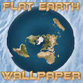 FLAT EARTH Sun And Moon Animated Live Wallpaper