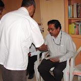 Demonstration of Amateur Radio Satellite communication to Mr Annadurai and Mr Raghavamurthy - DSC00142.JPG
