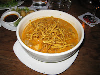 Northern Thai specialty - Khao Sawy - Best curry soup EVER! - The Riverside, Chiang Mai