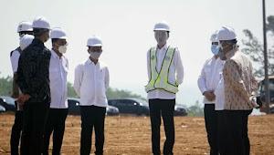 Jokowi Tinjau Kawasan Industri di Batang