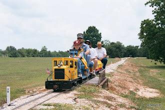Photo: Mauri Cash and Jim Cash   SWLS - HALS 2001-0526