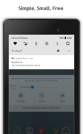 Speaker Boost: Volume Booster & Sound Amplifier 3D 3.0.29 Apk for Android 12