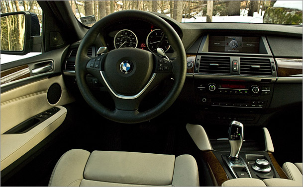 Bmw Automobiles Bmw X6 Interior