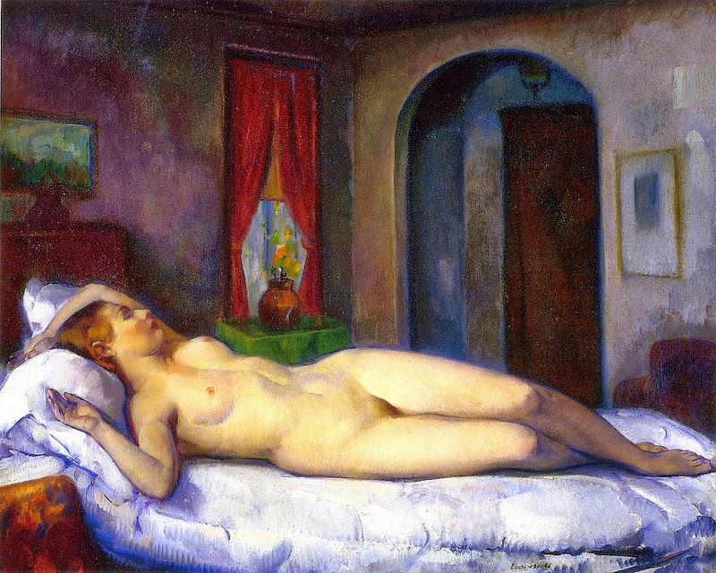 Leon Kroll - Sleeping nude