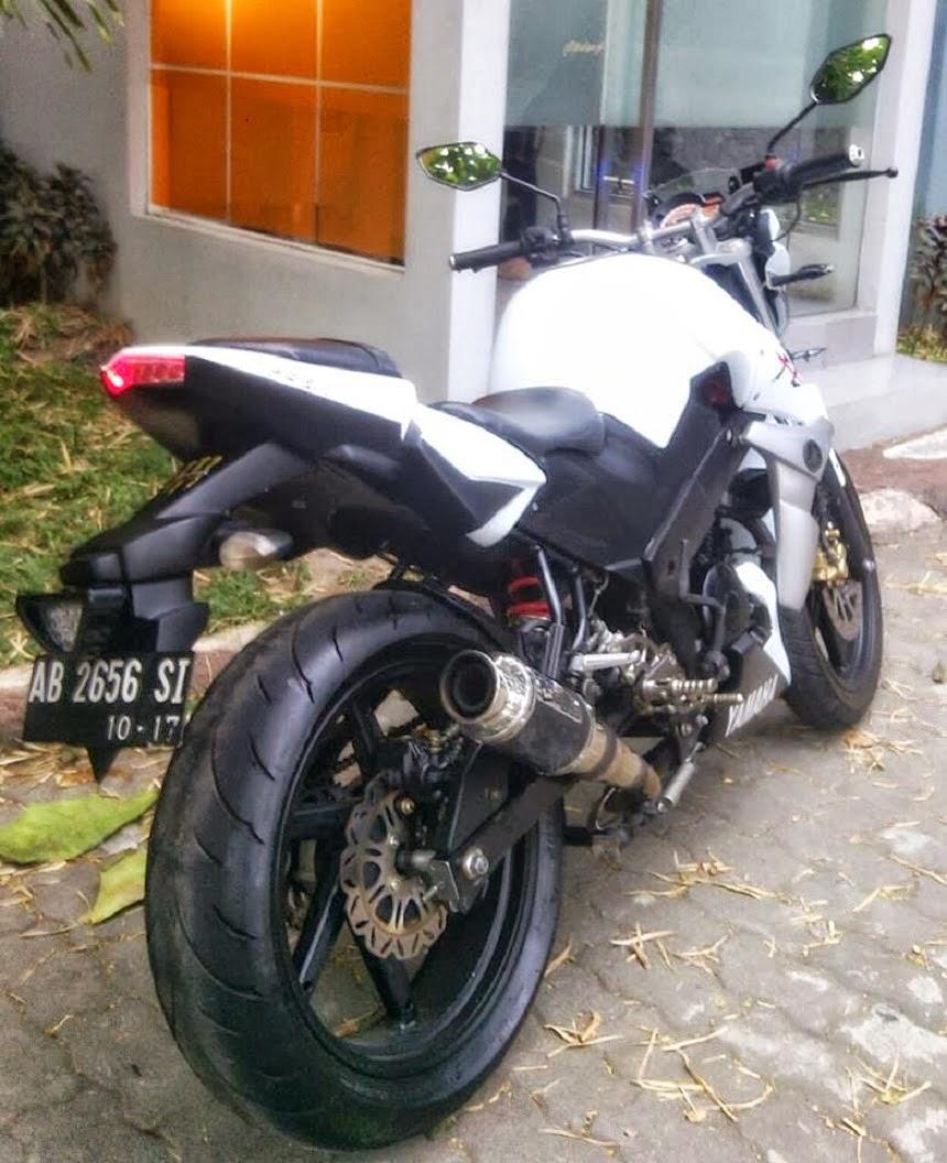 Yamaha Bison Modifikasi Street Fighter  Thecitycyclist