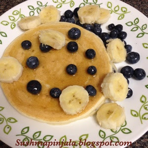 Pancakes with Self Rising Flour
