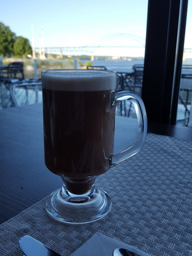 A morning cocoa...  Where to Stay - and Eat - in Miramichi, New Brunswick: the Rodd Hotel and Resort, and their fantastic 1809 Restaurant