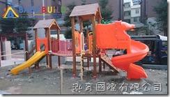 國際蒙特梭利竹北幼兒園 Babybuild木製遊具