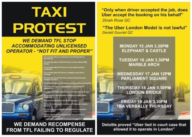 Taxi Leaks: The ITA Urge London Taxi Drivers Concerned About Their