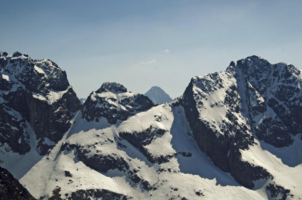 Krywań nad Zmarzłą Przełęczą