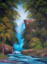Photo: 2408 Graceful Waterfall 18 x 24 $299.00