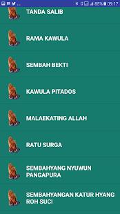 Doa Katolik Jawa - náhled