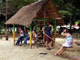 family trip pulau pari 140716 Fuji 035