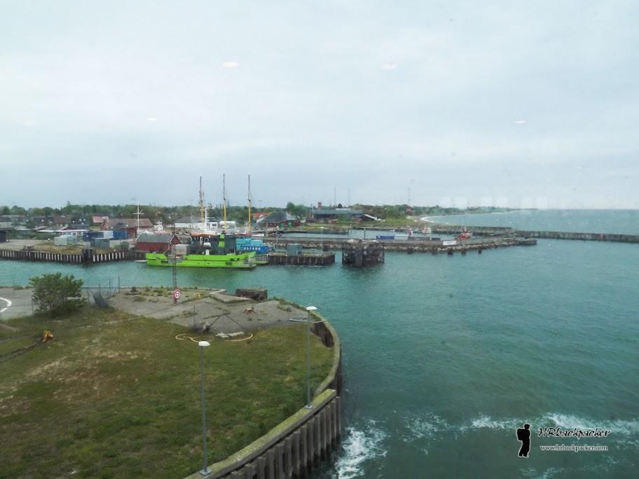 Gedser je najjužnija točka Danske sa koje polaze trajekti prema Rostocku u Njemačkoj. Pred nama je bilo dva i pol sata vožnje preko Baltika.
