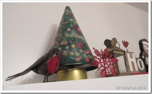 Festive Shelf Display Christmas Ornaments