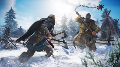 Interactive tour, new addons and other news on Assassin's Creed Valhalla