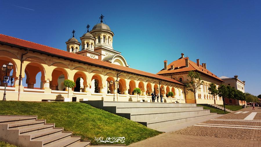 catedrala incoronarii alba iulia primavara