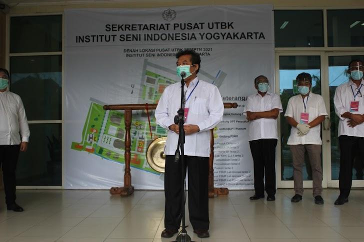 4.674 peserta Ikuti UTBK ISI Yogyakarta