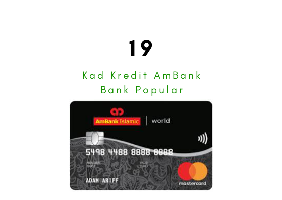 19 Kad Kredit AmBank Popular