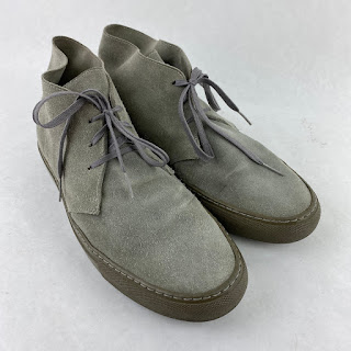 Common Projects Grey Chukkas