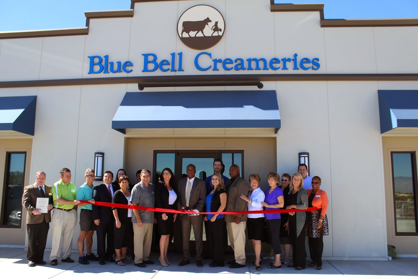Blue Bell Creameries (Tucson) grand opening of new distribution facility.