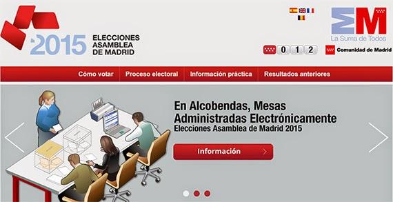 El Portal de las Elecciones recibe 1.500 visitas en 15 días