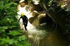 On se concentre bien pour pas tomber dans ce Canyon de Ternèze