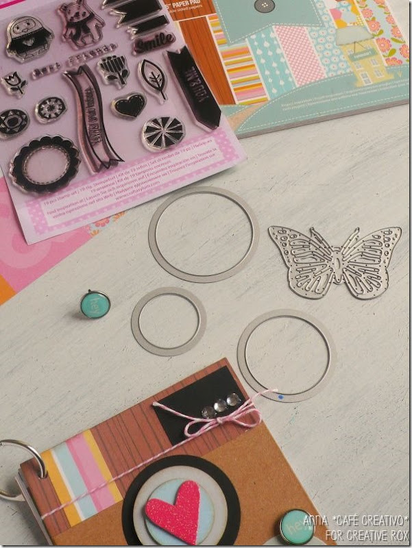 Tutorial Instagram Scrapbooking Mini Album usando fustelle Sizzix