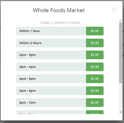 Review of Instacart in Portland - Pechluck's Food Adventures