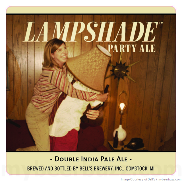Bell's Brewery Adding Lampshade Party Ale Bottles