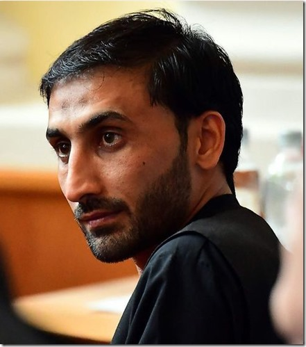 Autohändler und Schlepper Afghane