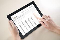 conception site web adaptatif capture écran pour tablettes tactiles sublimer présentation responsive web design // paris +33 06 8528 9977