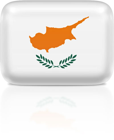 Cypriot flag clipart rectangular