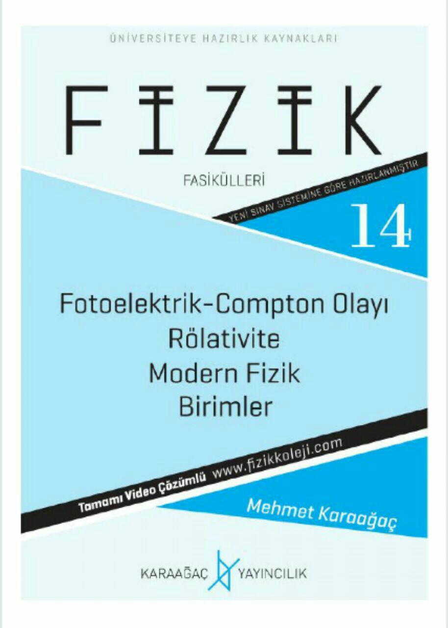 Karaağaç Yayınları YKS Fizik 14. Fasikül