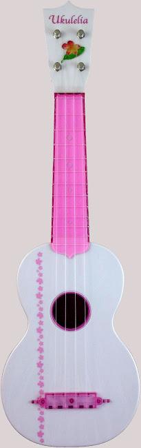 Amuse Ukulelia Rose Plastic Acoustic Soprano ukulele