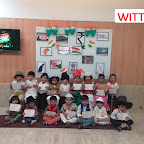 Republic Day Celebration of Nursery Section(2017-18) at Witty World, Bangur Nagar