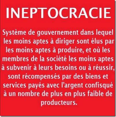 ineptocracie