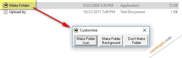 Hướng dẫn thay đổi icon folder // vẫn hiện khi mang sang máy khác
